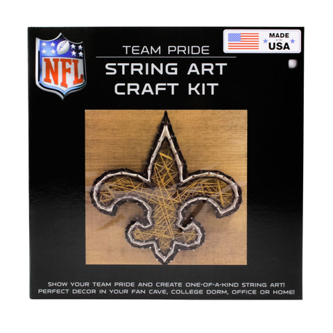 New Orleans Saints - Team Pride String Art Kit