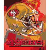 San Francisco Forty-Niners - Team Pride Paint By Numbers Craft Kit