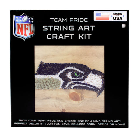 Seattle Seahawks - Team Pride String Art Kit