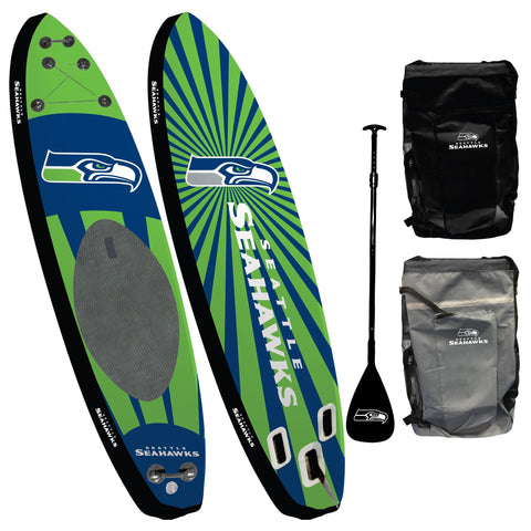 Seattle Seahawks - Team Pride Inflatable Stand Up Paddle Board
