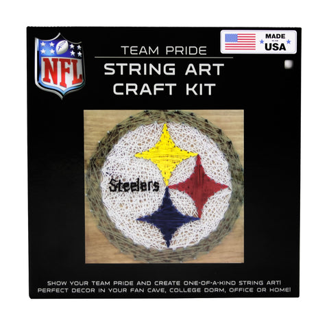 Pittsburgh Steelers - Team Pride String Art Kit