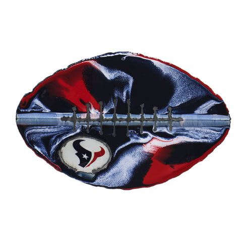 Houston Texans - Team Pride Recycled Metal Wall Art Football