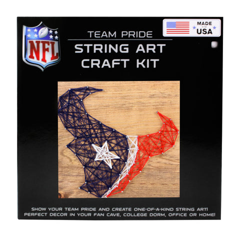 Houston Texans - Team Pride String Art Kit
