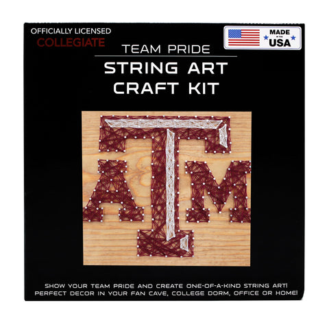 Texas A&M Aggies - Team Pride String Art Kit