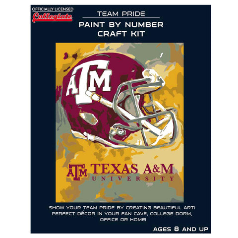 Texas A&M Aggies - Team Pride Paint By Number Craft Kit