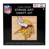 Minnesota Vikings - Team Pride String Art Kit