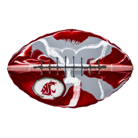 Washington State Cougars - Team Pride Recycled Metal Wall Art Football