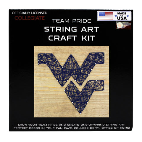 West Virginia Mountaineers - Team Pride String Art Kit
