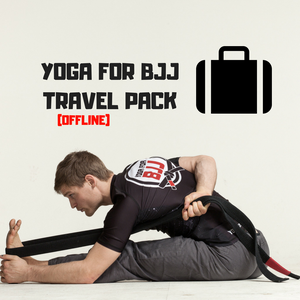 "Yoga for BJJ ""Travel Pack"" + E-book"