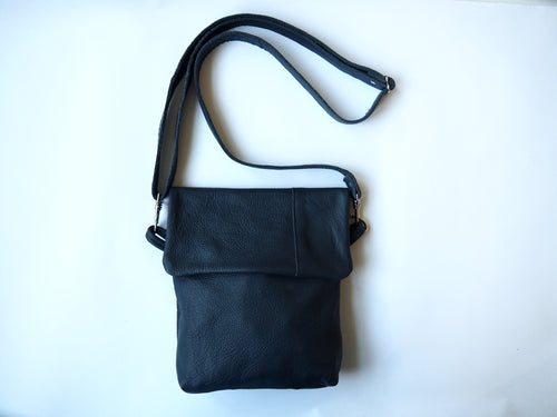 Leather Unisex Shoulder Bag