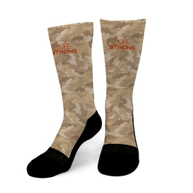 Redfish Camo Socks