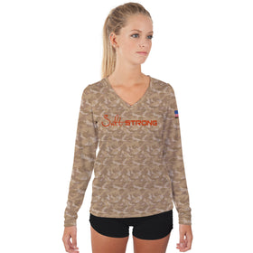 Redfish Camo Performance Shirt