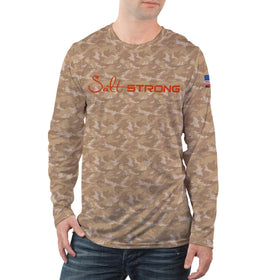 Redfish Camo Long Sleeve Performance Shirt