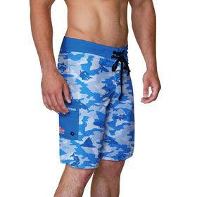 Snook Camo Men's Board Shorts