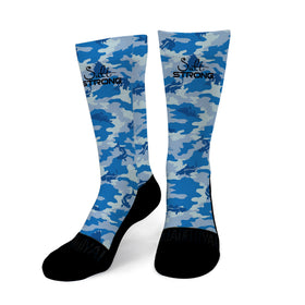 Snook Camo Men's Socks