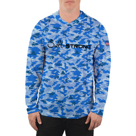 Snook Camo Performance Hoodie