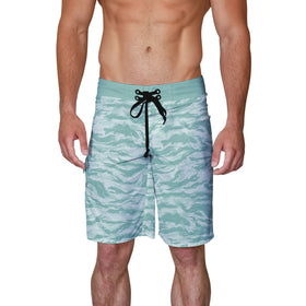 Trout Camo Board Shorts