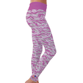 Pink Trout Leggings