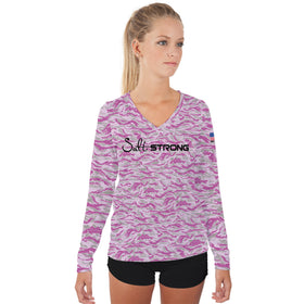 Pink Trout Camo Performance Shirt