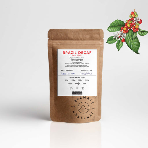 Brazil Minas Decaffeinated Omni Roast