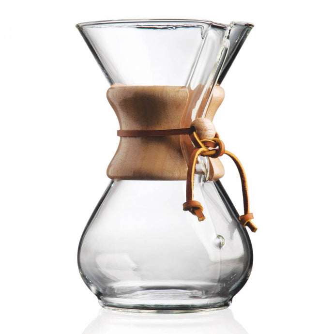Chemex WoodNeck Coffee Maker 6-10 Cups