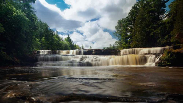 pure michigan tahquamenon falls state park