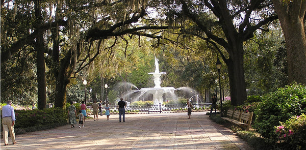best places to live for outdoors savannah Georgia