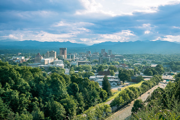 best places to live for outdoors Asheville North Carolina