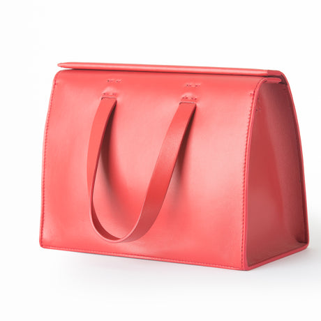 RED NAPPA BAG