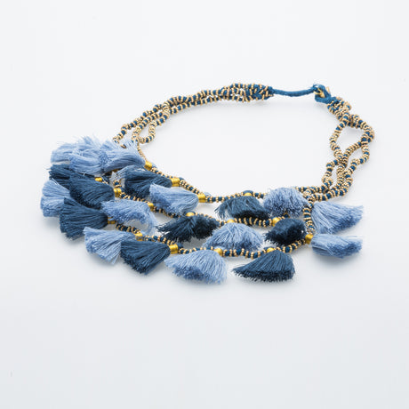 GIA DENIM NECKLACE