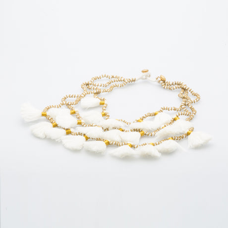 GIA WHITE NECKLACE