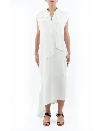 WHITE LIDIA DRESS