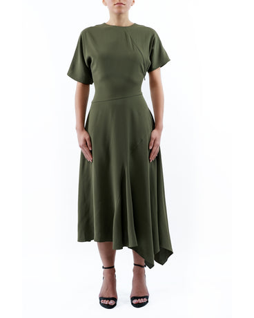 KHAKI KARIS DRESS