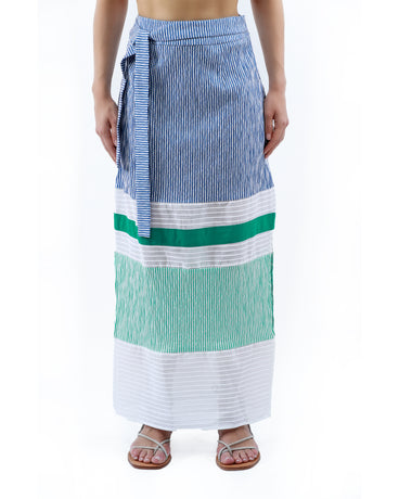 NADINE BLUE SKIRT
