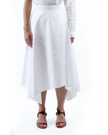 WHITE AILISH SKIRT