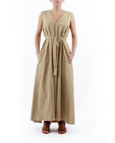 KHAKI VERITAS DRESS