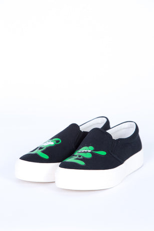 YOSH BLACK SLIP-ON