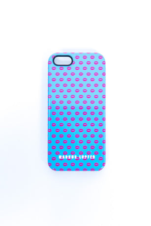 BLUE LIPS IPHONE 5/5S COVER - minbart