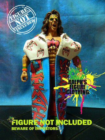 Ultimate Warrior Wrestlemania 7 Fire Coat