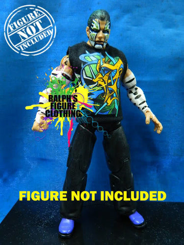 Jeff Hardy Abstract Shirt