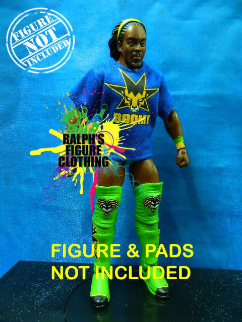 Kofi Kingston Blue