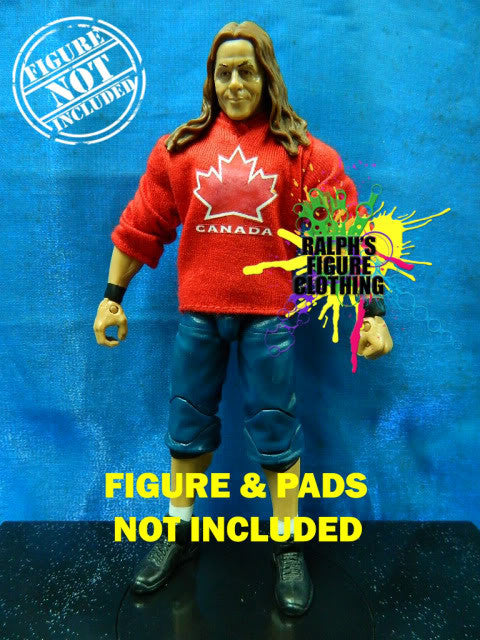 Bret Hart Red Shirt