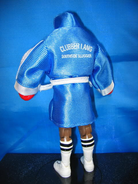 Clubber Lang Blue Robe