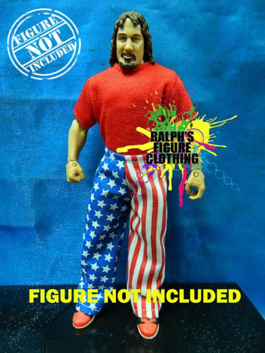 Terry Funk Red Shirt and USA Pants