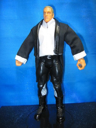 Triple H Black Jacket and White Shirt