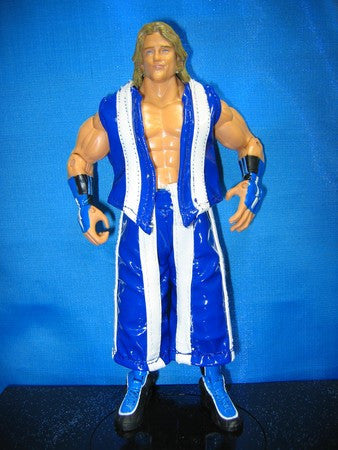 Hooliganz Brian Kendrick and Paul London Blue/White Vest and Pants