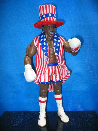 Apollo Creed USA Jacket and Hat