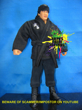 Ricky Steamboat Black Gi and Black Tights