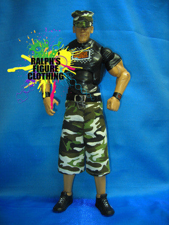 John Cena Camo Pants with Hat