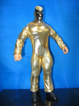 Conquistadors Gold Singlet and Mask